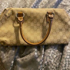 Authentic Vintage Gucci Mini Boston Bag